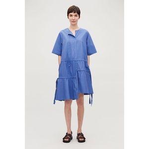 COS Asymmetrical Dress With Drawstrings 8